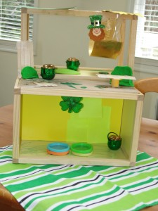 Fun Leprechaun apartment