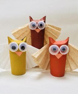 Easy Owl Craft for Fall